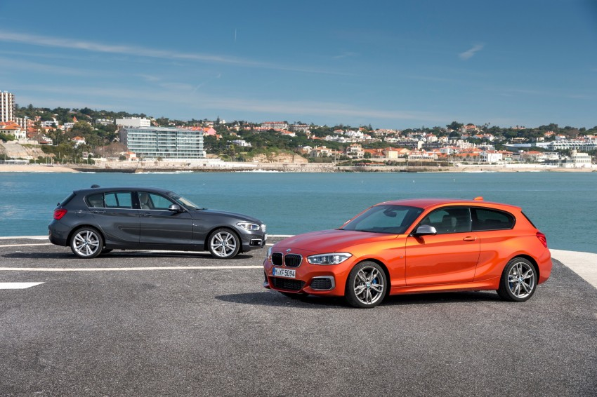 DRIVEN: BMW 1 Series facelift in Lisbon – 120d, M135i Image #348944