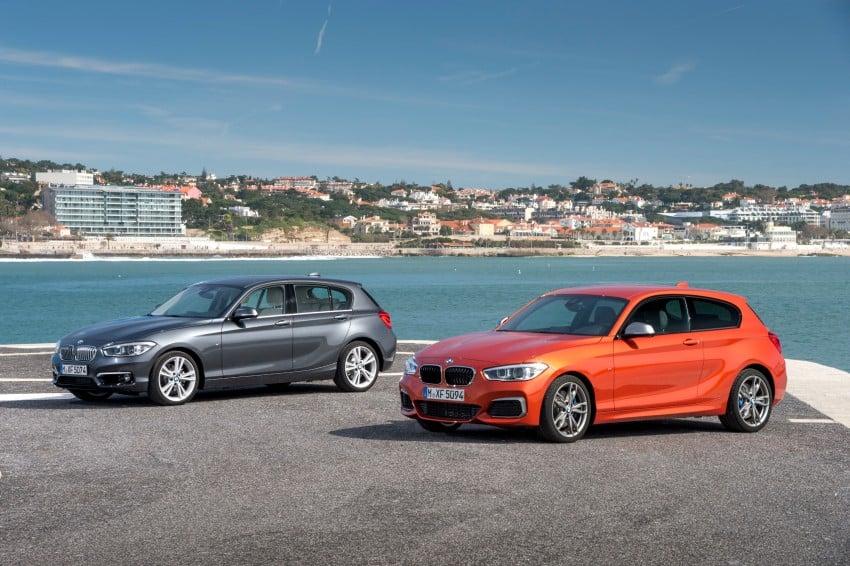DRIVEN: BMW 1 Series facelift in Lisbon – 120d, M135i Image #348945