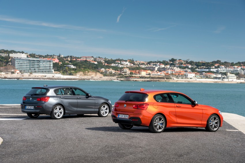 DRIVEN: BMW 1 Series facelift in Lisbon – 120d, M135i Image #348946
