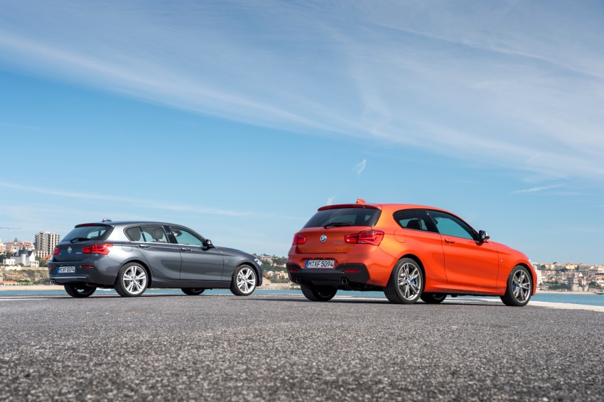 DRIVEN: BMW 1 Series facelift in Lisbon – 120d, M135i Image #348947
