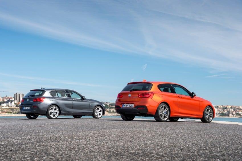DRIVEN: BMW 1 Series facelift in Lisbon – 120d, M135i Image #348947