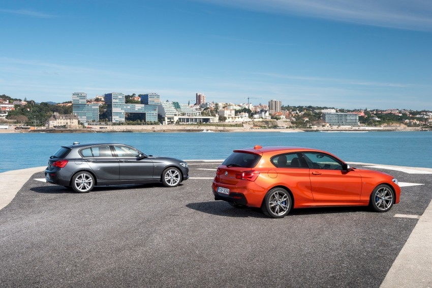 DRIVEN: BMW 1 Series facelift in Lisbon – 120d, M135i Image #348948