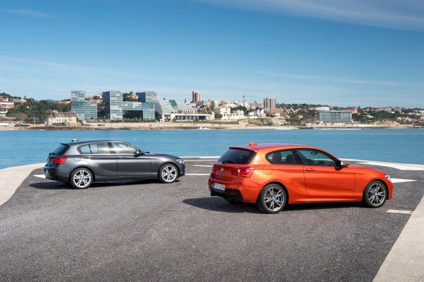 DRIVEN: BMW 1 Series facelift in Lisbon – 120d, M135i Image #348948