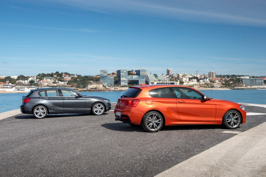 DRIVEN: BMW 1 Series facelift in Lisbon – 120d, M135i Image #348949