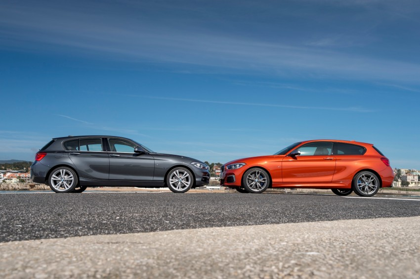 DRIVEN: BMW 1 Series facelift in Lisbon – 120d, M135i Image #348950