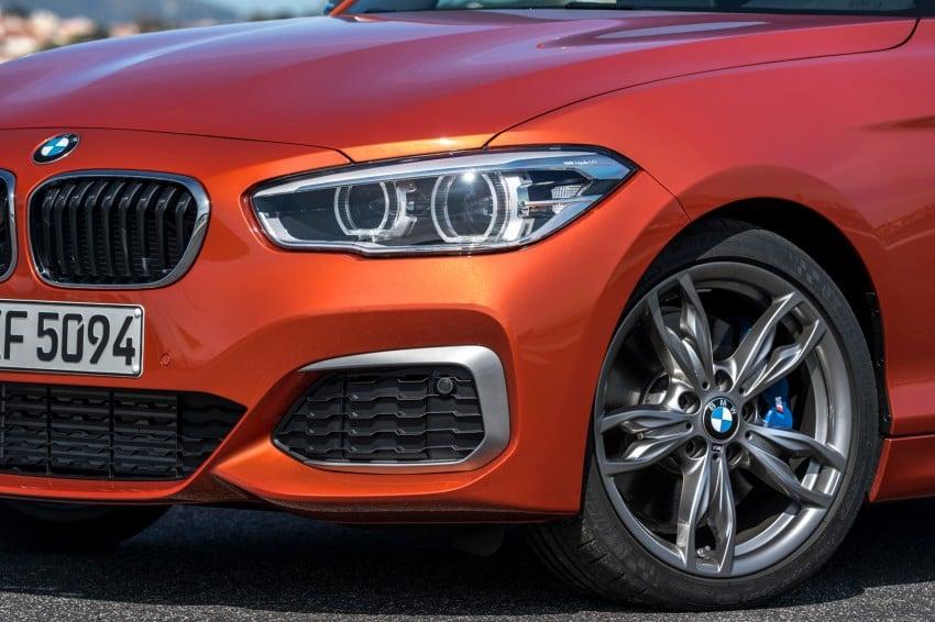 DRIVEN: BMW 1 Series facelift in Lisbon – 120d, M135i Image #348951