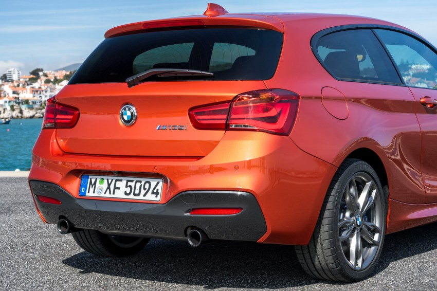 DRIVEN: BMW 1 Series facelift in Lisbon – 120d, M135i Image #348955