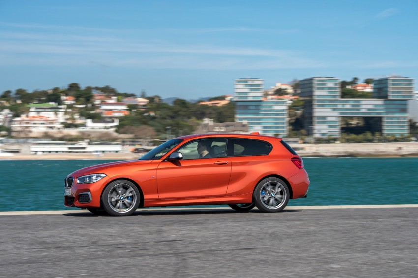 DRIVEN: BMW 1 Series facelift in Lisbon – 120d, M135i Image #348957