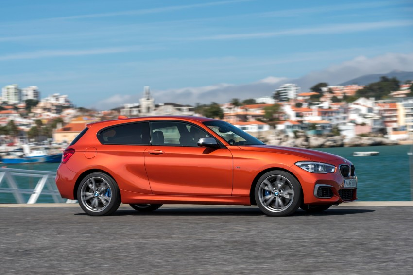 DRIVEN: BMW 1 Series facelift in Lisbon – 120d, M135i Image #348958
