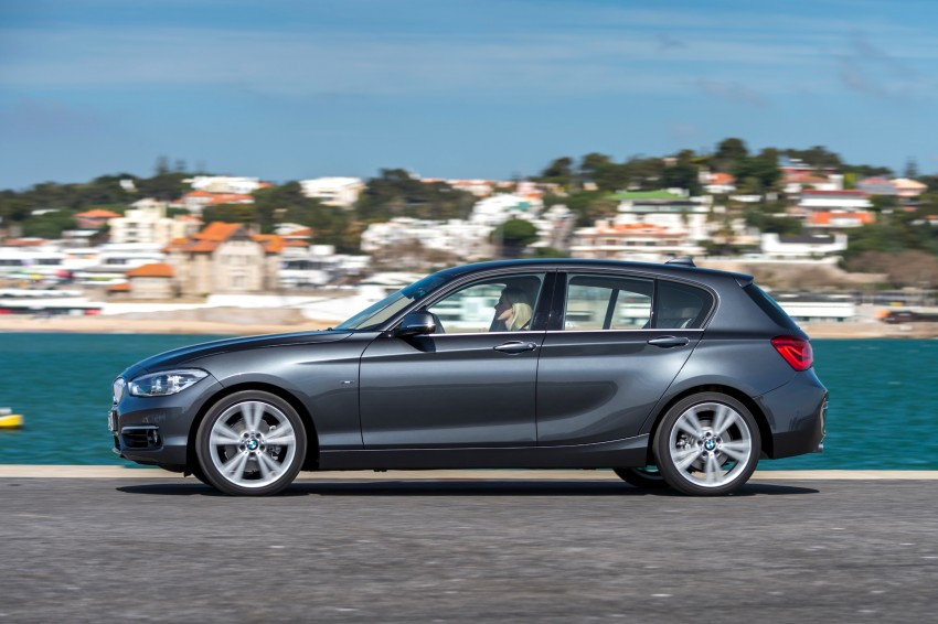 DRIVEN: BMW 1 Series facelift in Lisbon – 120d, M135i Image #348959
