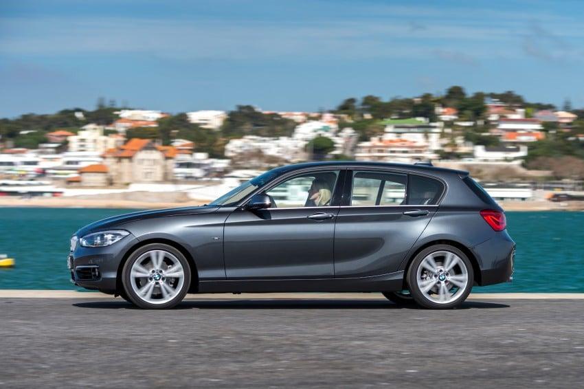 DRIVEN: BMW 1 Series facelift in Lisbon – 120d, M135i Image #348959