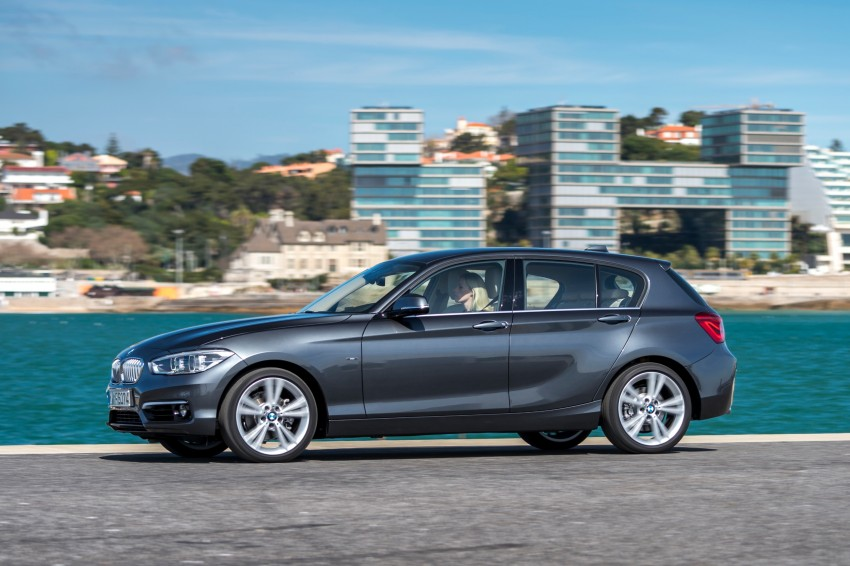 DRIVEN: BMW 1 Series facelift in Lisbon – 120d, M135i Image #348960
