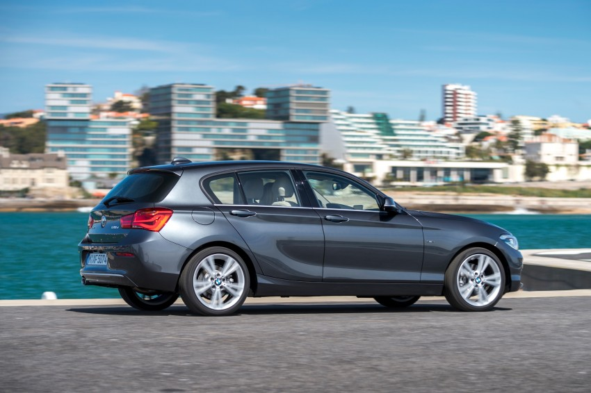 DRIVEN: BMW 1 Series facelift in Lisbon – 120d, M135i Image #348961