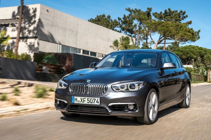 DRIVEN: BMW 1 Series facelift in Lisbon – 120d, M135i Image #348962