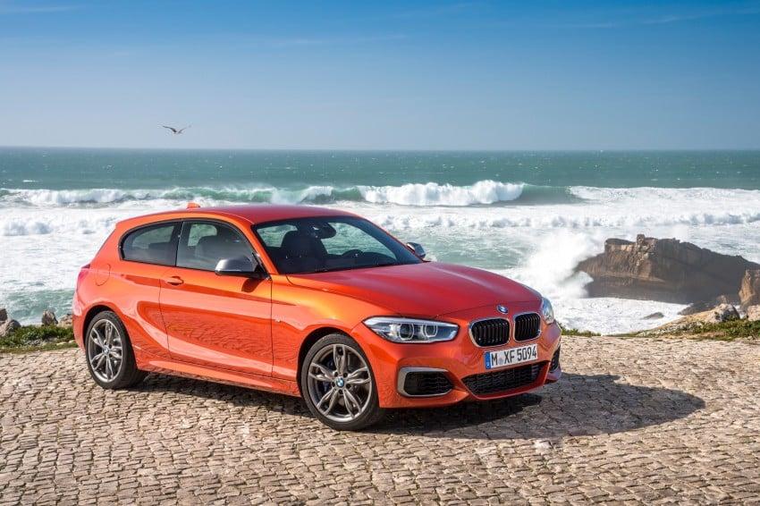 DRIVEN: BMW 1 Series facelift in Lisbon – 120d, M135i Image #348963