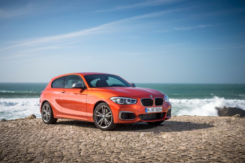 DRIVEN: BMW 1 Series facelift in Lisbon – 120d, M135i Image #348964