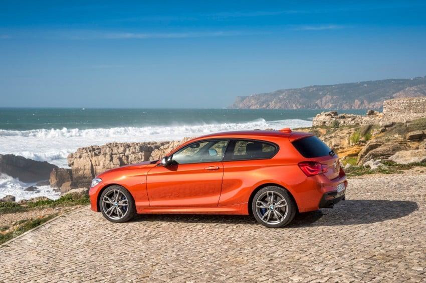 DRIVEN: BMW 1 Series facelift in Lisbon – 120d, M135i Image #348965