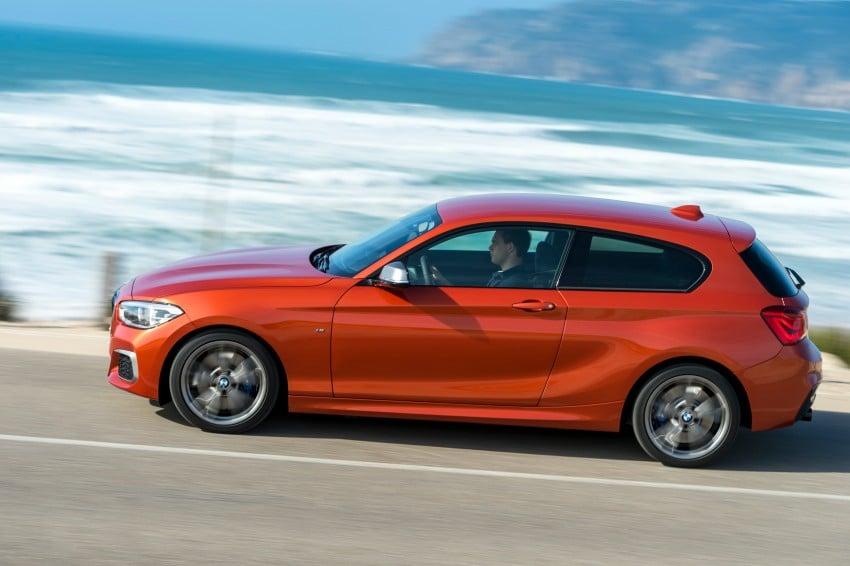 DRIVEN: BMW 1 Series facelift in Lisbon – 120d, M135i Image #348966