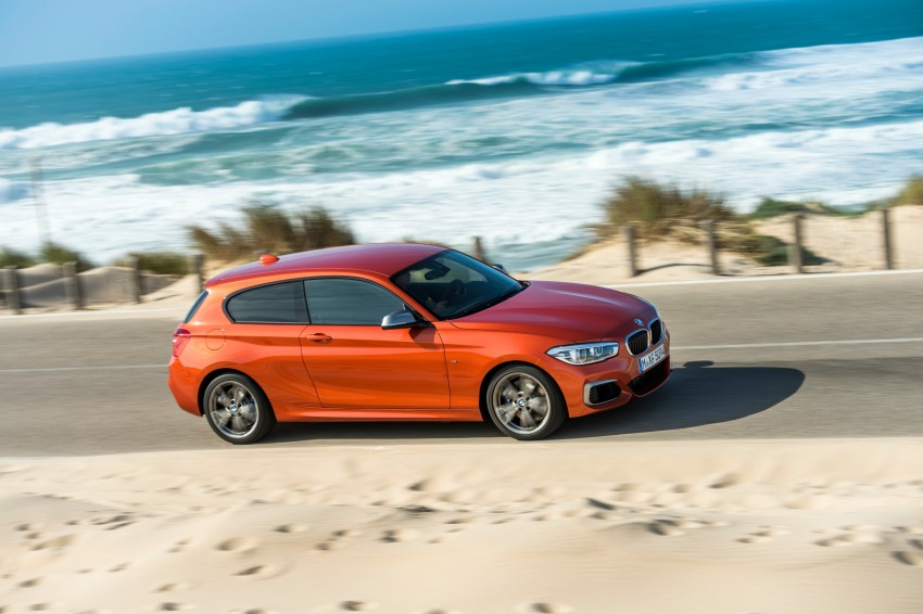 DRIVEN: BMW 1 Series facelift in Lisbon – 120d, M135i Image #348968