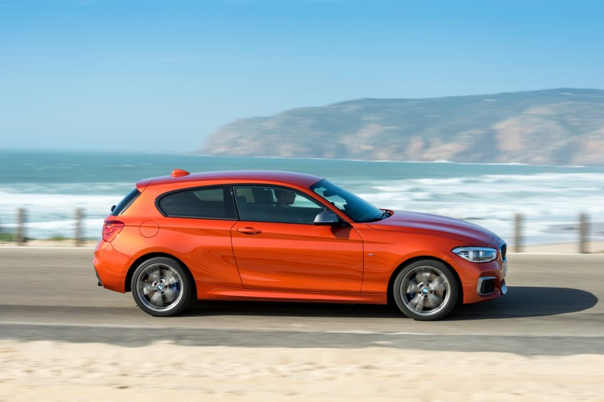 DRIVEN: BMW 1 Series facelift in Lisbon – 120d, M135i Image #348969