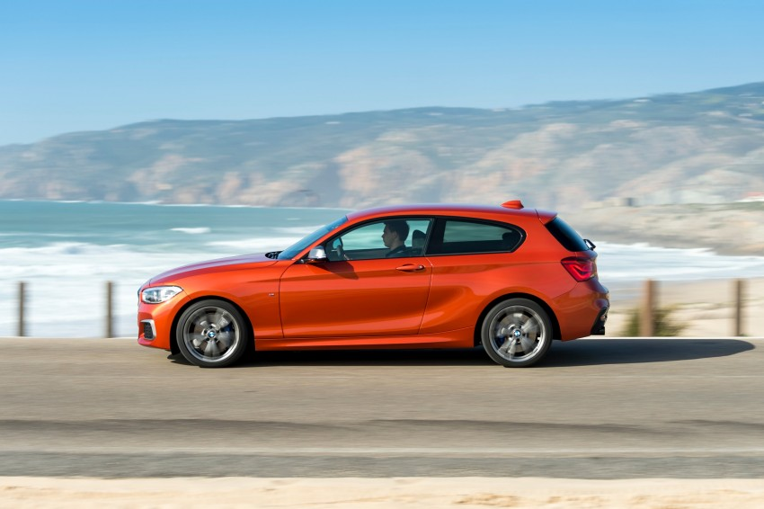 DRIVEN: BMW 1 Series facelift in Lisbon – 120d, M135i Image #348970