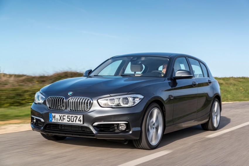 DRIVEN: BMW 1 Series facelift in Lisbon – 120d, M135i Image #348971
