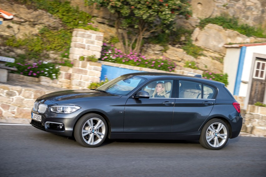 DRIVEN: BMW 1 Series facelift in Lisbon – 120d, M135i Image #348972