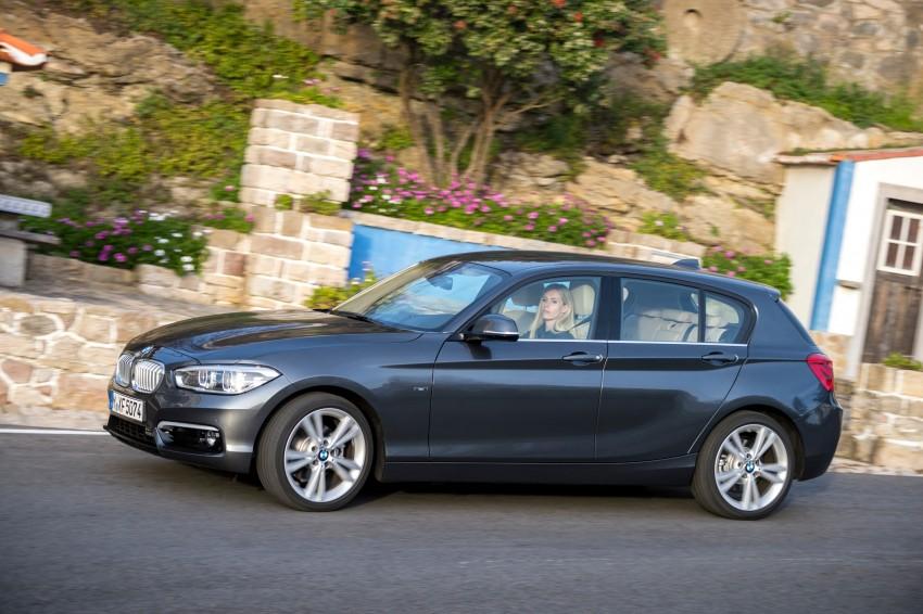 DRIVEN: BMW 1 Series facelift in Lisbon – 120d, M135i Image #348972