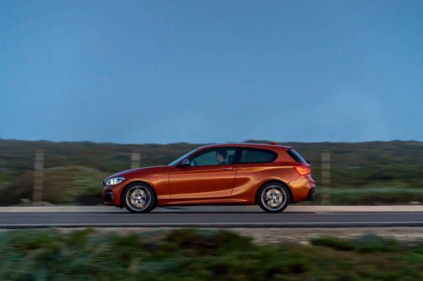 DRIVEN: BMW 1 Series facelift in Lisbon – 120d, M135i Image #348974