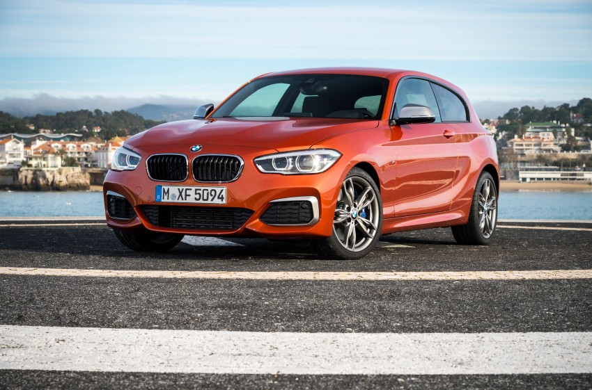 DRIVEN: BMW 1 Series facelift in Lisbon – 120d, M135i Image #348975