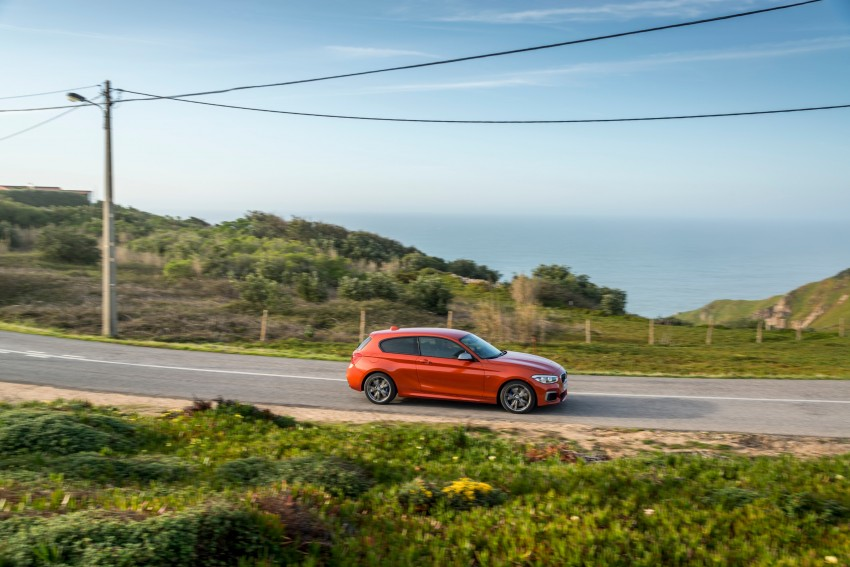 DRIVEN: BMW 1 Series facelift in Lisbon – 120d, M135i Image #348976