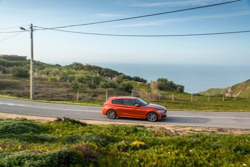 DRIVEN: BMW 1 Series facelift in Lisbon – 120d, M135i Image #348976
