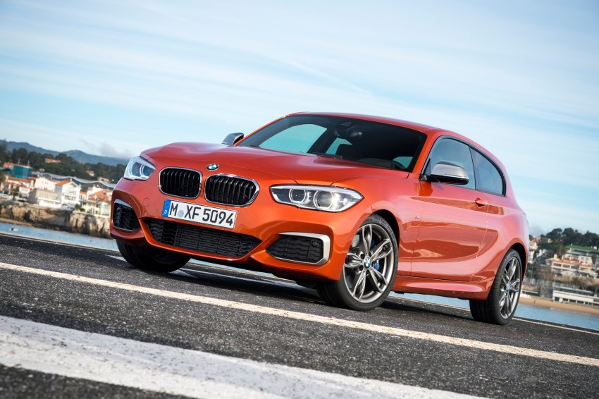 DRIVEN: BMW 1 Series facelift in Lisbon – 120d, M135i Image #348977