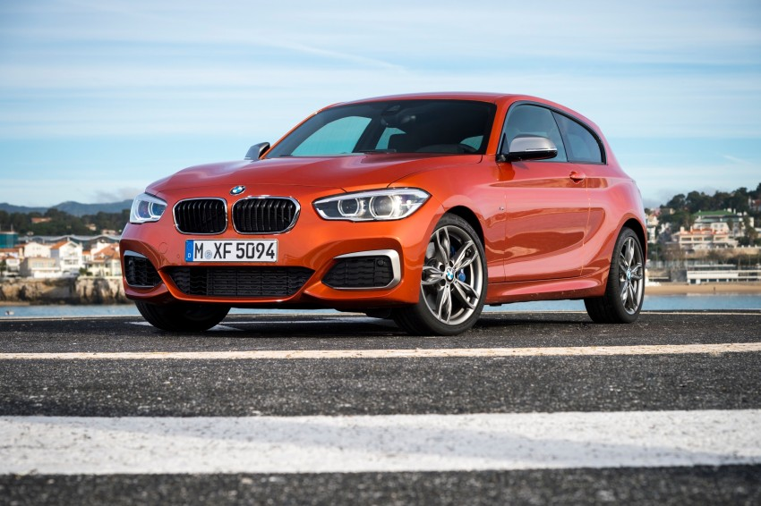 DRIVEN: BMW 1 Series facelift in Lisbon – 120d, M135i Image #348978
