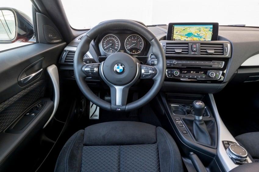 DRIVEN: BMW 1 Series facelift in Lisbon – 120d, M135i Image #348993