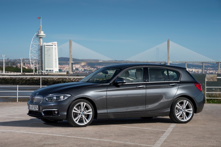 DRIVEN: BMW 1 Series facelift in Lisbon – 120d, M135i Image #349004