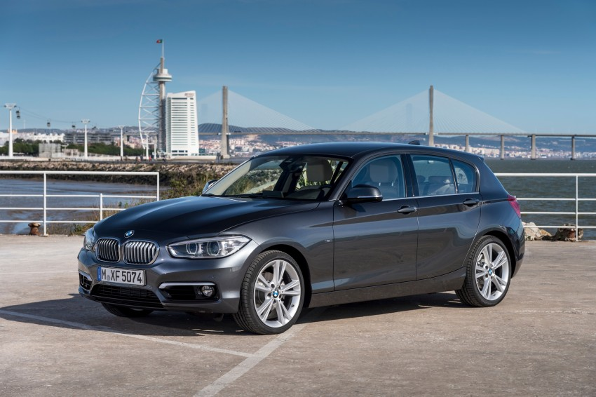 DRIVEN: BMW 1 Series facelift in Lisbon – 120d, M135i Image #349005