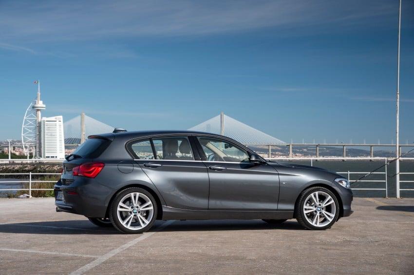 DRIVEN: BMW 1 Series facelift in Lisbon – 120d, M135i Image #349006