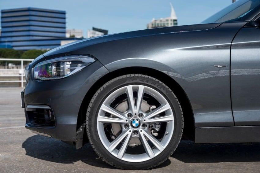 DRIVEN: BMW 1 Series facelift in Lisbon – 120d, M135i Image #349007