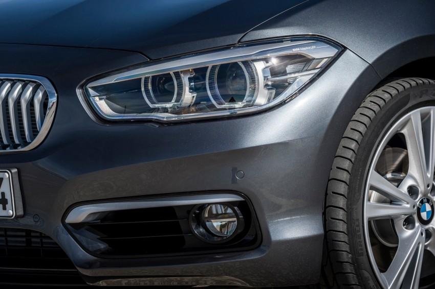DRIVEN: BMW 1 Series facelift in Lisbon – 120d, M135i Image #349008