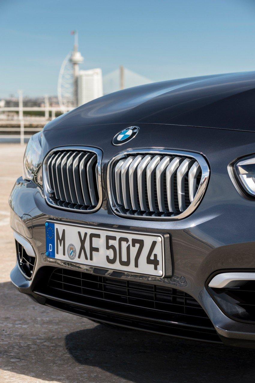 DRIVEN: BMW 1 Series facelift in Lisbon – 120d, M135i Image #349010