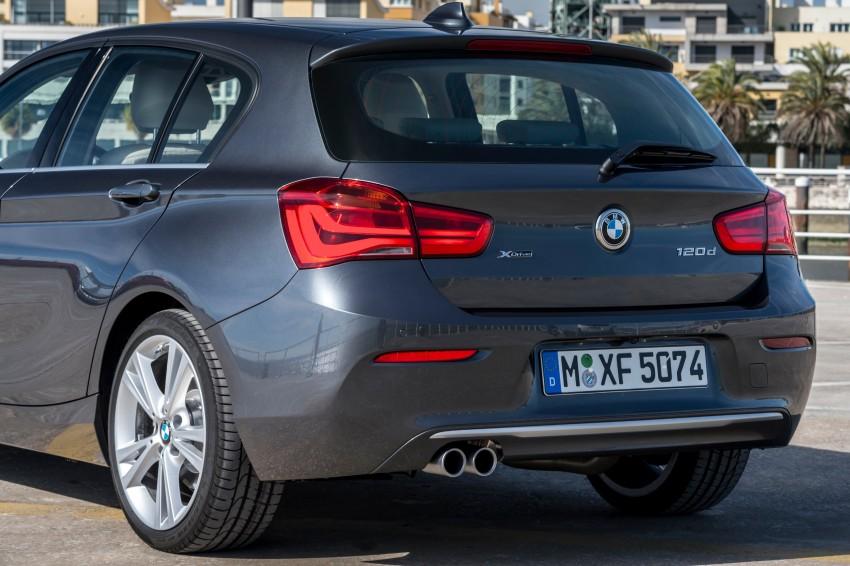 DRIVEN: BMW 1 Series facelift in Lisbon – 120d, M135i Image #349013