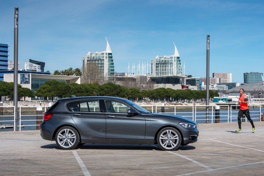 DRIVEN: BMW 1 Series facelift in Lisbon – 120d, M135i Image #349014