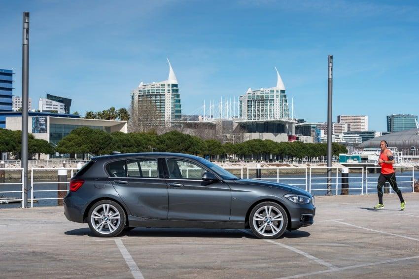 DRIVEN: BMW 1 Series facelift in Lisbon – 120d, M135i Image #349014