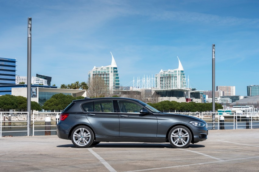 DRIVEN: BMW 1 Series facelift in Lisbon – 120d, M135i Image #349015
