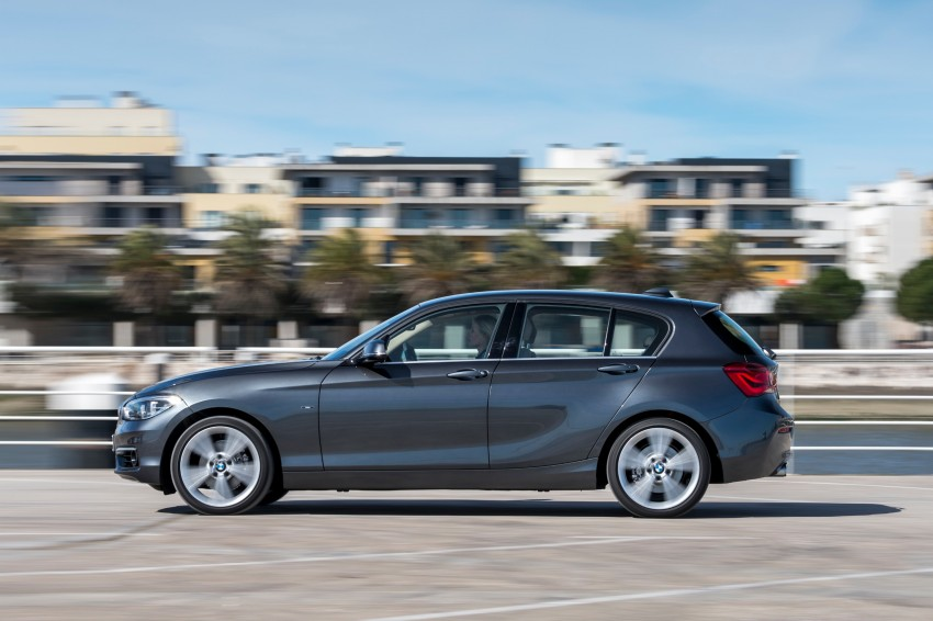 DRIVEN: BMW 1 Series facelift in Lisbon – 120d, M135i Image #349016
