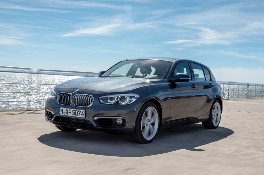 DRIVEN: BMW 1 Series facelift in Lisbon – 120d, M135i Image #349017