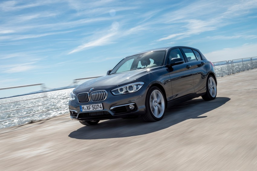 DRIVEN: BMW 1 Series facelift in Lisbon – 120d, M135i Image #349018