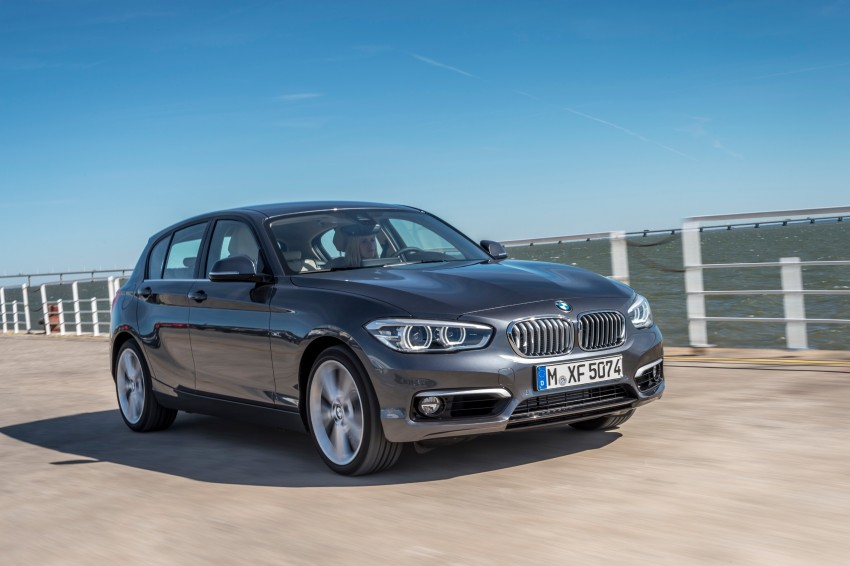 DRIVEN: BMW 1 Series facelift in Lisbon – 120d, M135i Image #349019