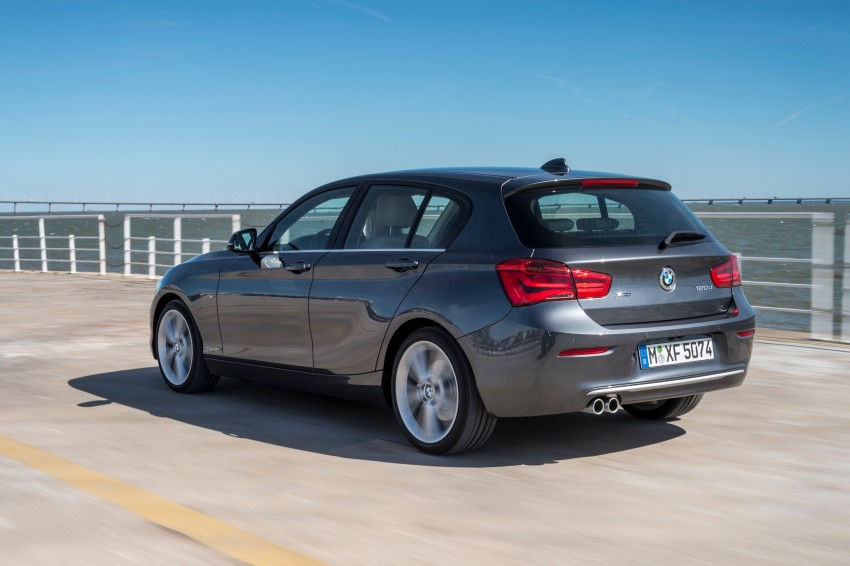 DRIVEN: BMW 1 Series facelift in Lisbon – 120d, M135i Image #349020